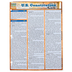 BarCharts Inc, U.S. Constitution, Quick Study Academic Guide, Laminated, Grades 5-Adult