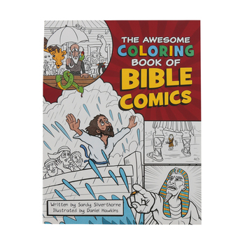 Harvest House, The Awesome Coloring Book of Bible Comics, Paperback, 80 Pages, Ages 8-11