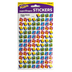 TREND enterprises, Inc., Happy Books superShapes Stickers, Assorted Colors, Pack of 800