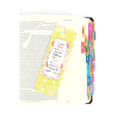 Dicksons, I Said a Prayer for You Today Bookmark with Tassel, Yellow Green