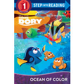 Ocean of Color, Finding Dory, Level 1 Reader, by Bill Scollon, Paperback
