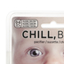 Fred & Friends, Chill Baby, Mustache Pacifier, Rubber & Silicone, Clear & Black, 2 x 2 1/2 inches
