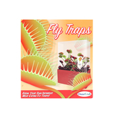 DuneCraft, Fly Trap Plant Cube, 3 x 5.5 x 6 Inches, 6 Pieces, Ages 5  and up