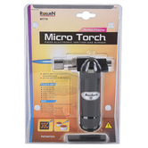 Pacific Trading, Turbo Flame Micro Torch, Black and Silver, 6 inches