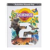 BJU Press, Science 2 Student Activity Manual Answer Key, 5th Edition, Grade 2