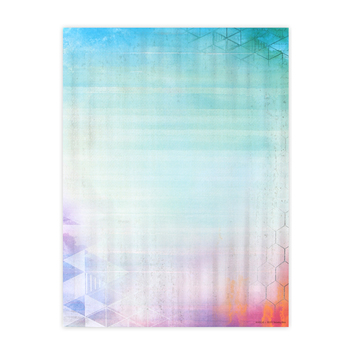 Retro Chic Collection, Letterhead 8.5 x 11 Inches, 50 Sheets