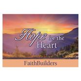 Christian Art Gifts, Hope for the Heart Faithbuilders Pocket Cards, 3 1/8 x 2 inches, 20 cards