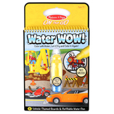Melissa & Doug, Water Wow! Vehicles Reveal Pad, Ages 3 to 5 Years, 5 Pieces