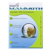 Math Mammoth, Grade 5-B Worktext, Light Blue Series by Maria Miller, Paperback, Grade 5