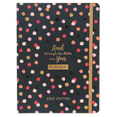 Barbour, Read through the Bible in a Year Planner: 2022 Edition, Paperback, 6 x 8 inches, 384 Pages