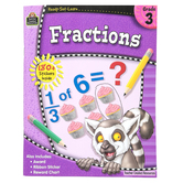 Ready-Set-Learn Activity Book: Fractions, 64 Pages, Grade 3