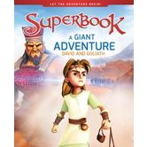 A Giant Adventure: David and Goliath, Superbook Series, by CBN, Hardcover