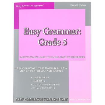 Easy Grammar Grade 5 Teacher