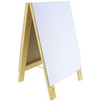 Mardel, Large Chalk and Dry Erase Board Easel, 7 x 12 x 6.5 Inches, 1 Piece