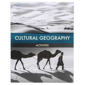 BJU Press, Cultural Geography Activities Book, 5th Edition, Paperback, 208 Pages, Grade 9
