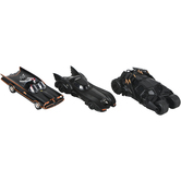 Master Toys and Novelties, Inc., Classic Batmobile Toy Car, Black, 5 to 6 inches