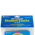 Learning Resources, Write & Wipe Student Clocks, Classroom Pack of 10, Grades K-2