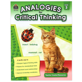 Teacher Created Resources, Analogies for Critical Thinking Resource, Grade 3