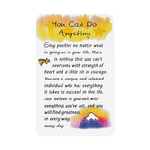 Blue Mountain Arts, You Can Do Anything Wallet Card, 2 x 3 1/4 inches