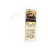Dexsa, Broken Chain Tassel Bookmark, Tan, 2 x 6 inches