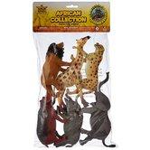 Wild Republic, Plastic African Animal Assortment, 6 Pieces