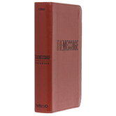 MSG The Message Compact Bible, Imitation Leather, Multiple Colors Available
