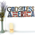 Open Road Brands, God Bless America Sign, Metal, 21 3/4 x 8 5/8 x 1/8 inches