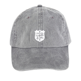 Riot Merchandising, for KING & COUNTRY Baseball Style Cap, Gray & White, One Size Fits Most