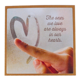 Imagine Design, The Ones We Love Are Always In Our Hearts Magnet, 3 1/2 x 3 1/2 inches