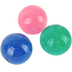 Toysmith, Glitter Bouncy Balls, Ages 3-8, Set of 3