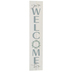 P. Graham Dunn, You're Welcome Here Pallet Wood Decor, White, 7 x 36 x 3/4 inches