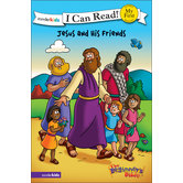 Jesus and His Friends, The Beginner's Bible, My First I Can Read!, by Zonderkidz, Paperback