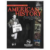 Master Books, American History Student Textbook Revised Edition, Paperback, 496 Pages, Grades 9-12