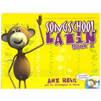 Classical Academic Press, Song School Latin 2 Student Book With CD, Grades 2-3