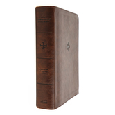CSB Life Connections Study Bible, Imitation Leather, Brown