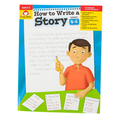 Evan-Moor, How to Write A Story Teacher Reproducible, Paperback, 96 Pages, Grades 4-6