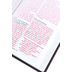NLT Holy Bible, Giant Print, Imitation Leather, Pink and Brown