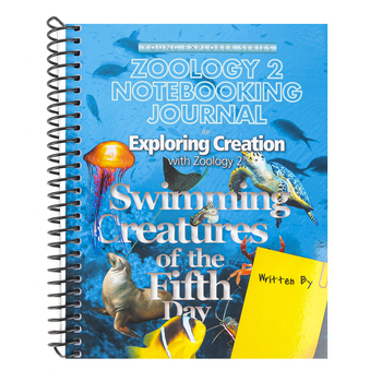 Apologia, Exploring Creation with Zoology 2 Regular Notebooking Journal, Spiral, Grades 3-6