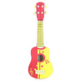 Hape, Ukulele, Wood, Red, 22 x 8 x 3 inches, Ages 3 and Older