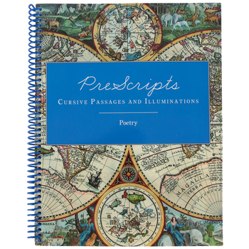 Classical Conversations, PreScripts Cursive Passages and Illuminations Poetry, Grades 6-9