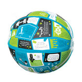 Group, Throw and Tell All About Me Inflatable Ball, 24 Inches, Ages 3 Years and Up, 1 Each