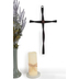 Twisted Iron Wall Cross, Black, 9 x 16 inches