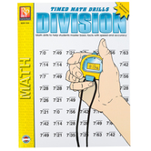 Remedia Publications, Timed Math Drills Division: A Systematic Approach, Paperback, Grades 3-6