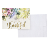 Brother Sister Design Studio, Shiplap Floral Thank You Cards, 15 Cards with Envelopes
