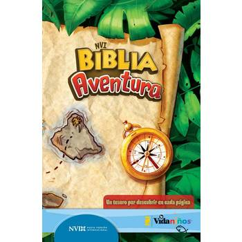 NVI Biblia Aventura Spanish Bible, Hardcover