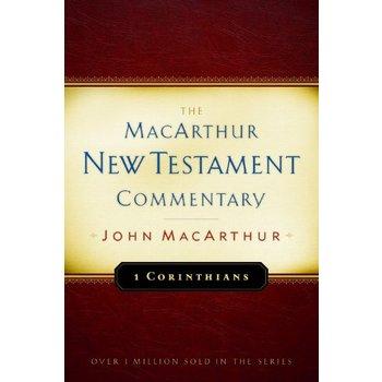 1 Corinthians, The MacArthur New Testament Commentary, by John MacArthur, Hardcover