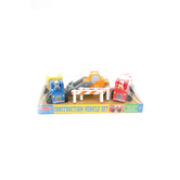 Melissa & Doug, Construction Vehicle Set, Ages 2 to 4 Years Old, 8 Pieces