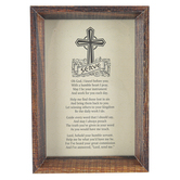Dicksons, Serve Framed Tabletop or Wall Plaque, MDF, 6 1/2 x 4 1/2 inches
