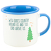 Abbey and CA Gift, Camping Is All About Sleeping Under The Stars Coffee Mug, Ceramic, 16 ounces