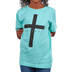 NOTW, John 3:36 I Believe, Kid's Short Sleeve T-shirt, Mint Green, X-Small